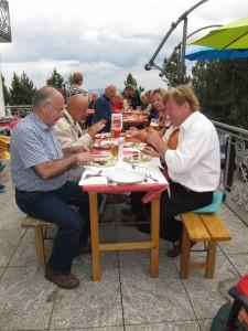 Essen bei Harald